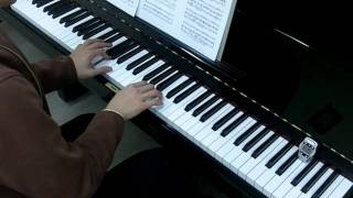 Suzuki Violin Book 1 No.15 Bach Minuet 3 Piano Accompaniment Practice 96 bpm 鈴木 鎮一