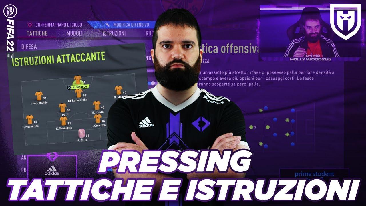 Download NUOVE TATTICHE SUPER AGGRESSIVE COL PRESSING /// FIFA 22 PRO TIPS