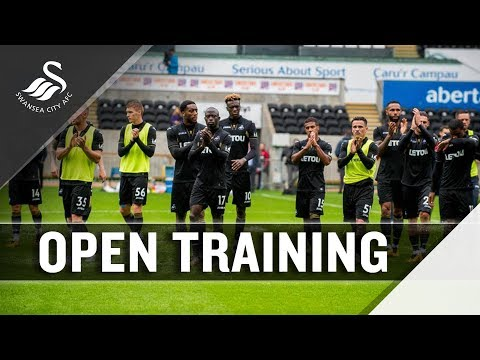 Swans host training for fans at Liberty Stadium