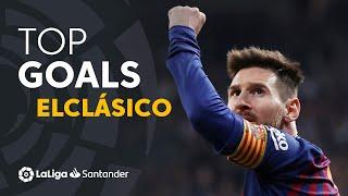 TOP Goles FC Barcelona ElClásico 2009 - 2019