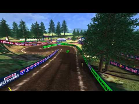 Washougal Motocross Animated Track Map Dynamic Cam