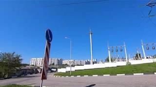 Белгород прогулка по улице проезд Автомобилистов