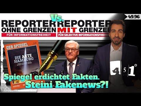 Steinmeier Fakenews Spiegel Fakenews Glyphosat Fakenews   451 Grad Fakenews