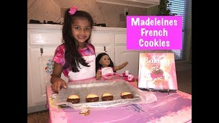 Madeleines | French Cookie | American Girl Baking