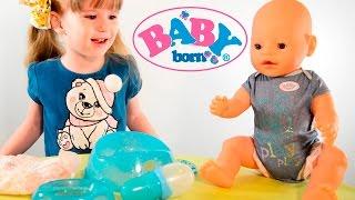 Baby Born  - почти живая кукла. Плачет слезами, ест, пьёт и писает. Обзор Бэби Бон