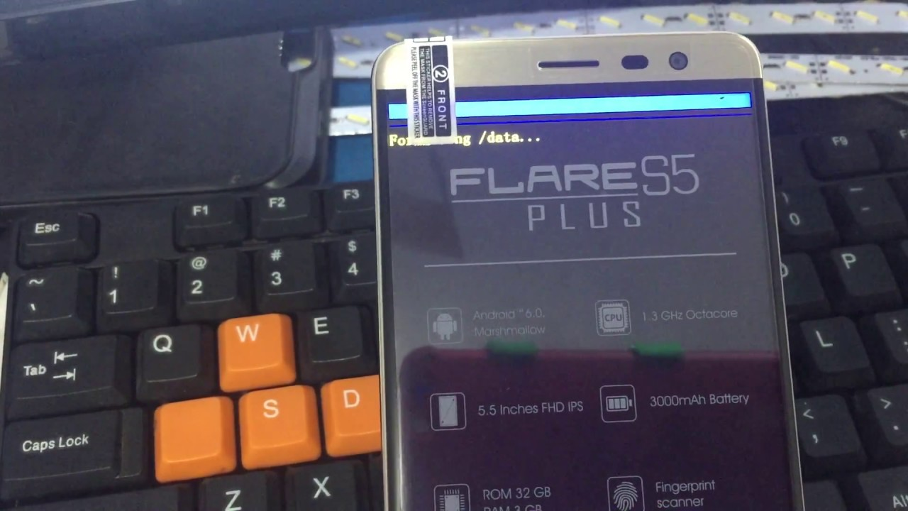 How To Hard Reset Cherry Mobile Flare S5 Plus