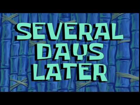 Several Days Later | SpongeBob Time Card #36