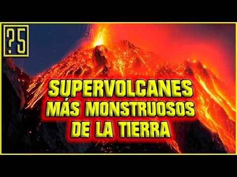 Los 5 Súper Volcanes más Monstruosos del mundo