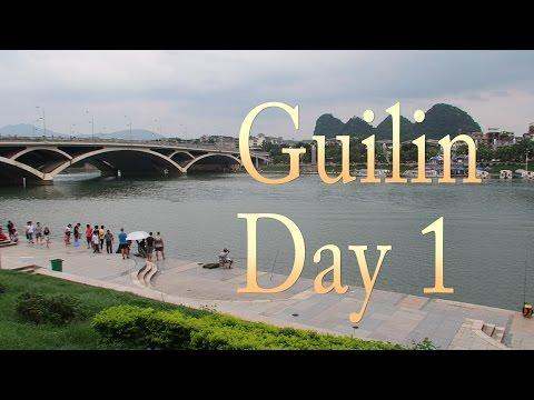 Guilin Day 1: Nice hostels, Li River, and the Zhengyang / Zhongshan Pedestrian Street