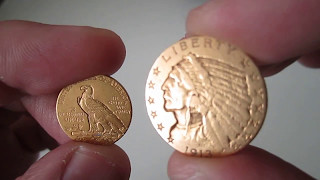 $5 Gold Indian Head Half Eagles
