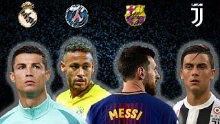 MOVIE ► Cristiano Ronaldo ● Neymar Jr ● Lionel Messi ● Paulo Dybala ● skills/goals 2017/2018 HD