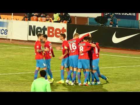 Gol Florin Tănase, in FCSB - Viitorul Constanța 2-0
