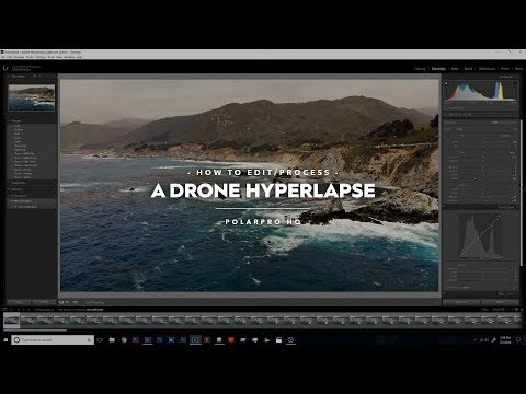 How to Edit a Drone Hyperlapse - Full Video and Step by Step
