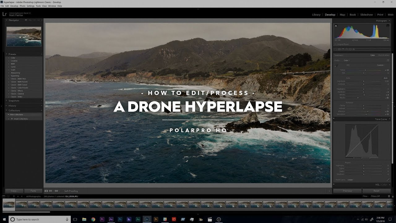 How to Edit a Drone Hyperlapse - Full Video and Step by Step Guide