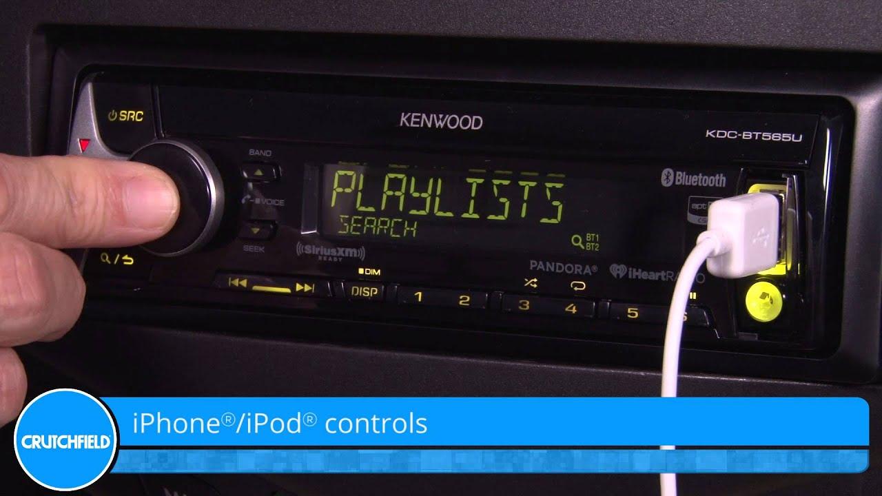 maxresdefault kenwood kdc bt565u display and controls demo crutchfield video kenwood kdc bt652u wiring diagram at crackthecode.co