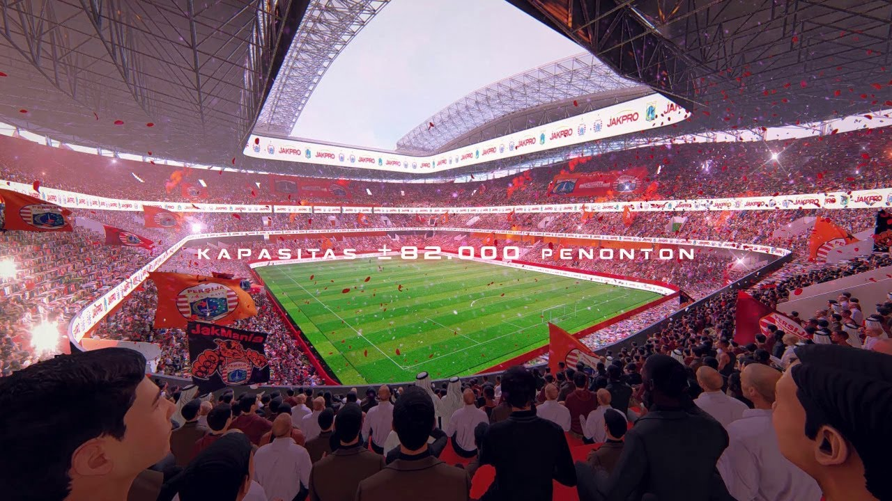 Jakarta International Stadium Image: Master Plan Jakarta International Stadium