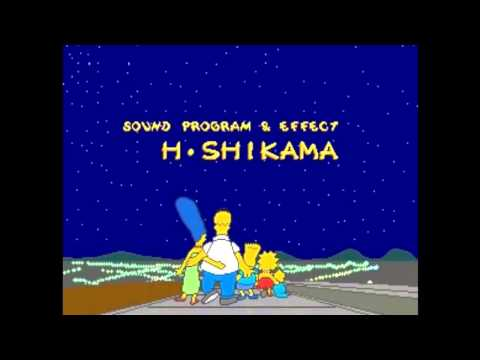 The Simpsons Arcade OST Ending Staff Roll