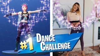 ¡RETO DE BAILE FORTNITE EN LA VIDA REAL! KittyPlays