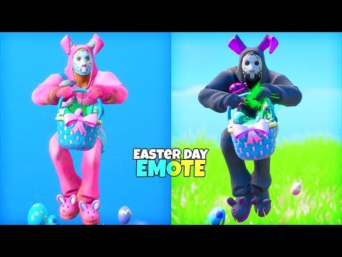 *NEW* Easter Day Emote LEAKED Gameplay..! Fortnite Battle Royale