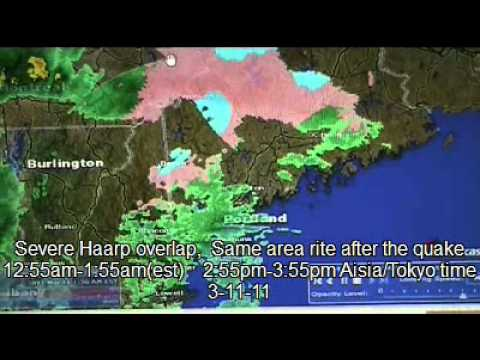 Evidence of HAARP activity  Before/after 9.0 Japan Earthquake
