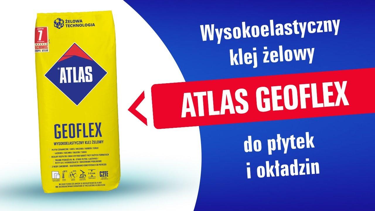 Atlas Geoflex Klej żelowy Krzemianowy Wysokoelastyczny 25kg
