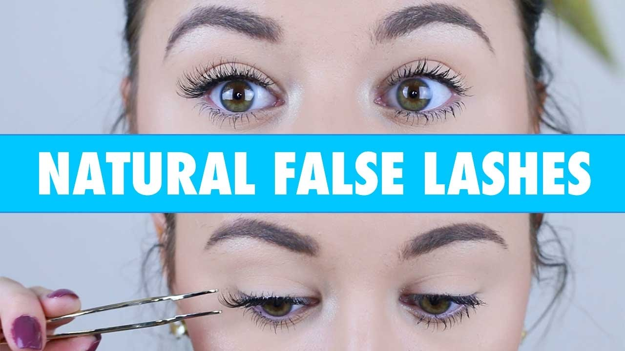 de00e33ed96 How To Apply False Lashes Without Eyeliner by Emily Freybler