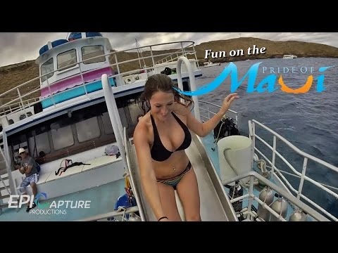 Fun on the Pride of Maui ~ Molokini Snorkel Tour