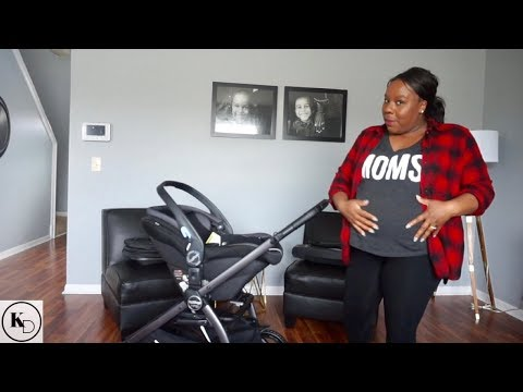 baby-stroller-travel-system-|-newborn-carseat-safety-|-pegperego-ypsi-travel-system-review