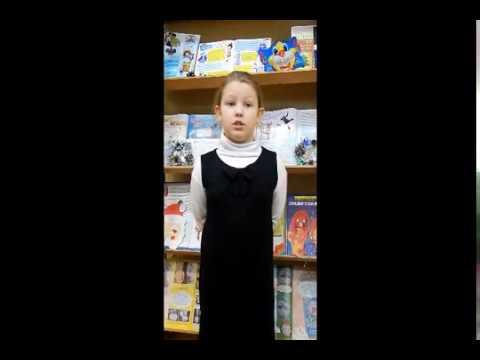 Изображение предпросмотра прочтения – АделинаБородина читает произведение «Зимний вечер» А.С.Пушкина
