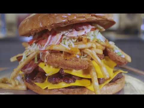 Pat Donovan - Check Out The Gridiron Challenge Burger!
