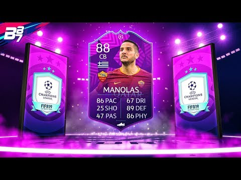 ULTIMATE MOMENTS 88 MANOLAS! CHAMPIONS LEAGUE PREMIUM SBC! | FIFA 19 ULTIMATE TEAM