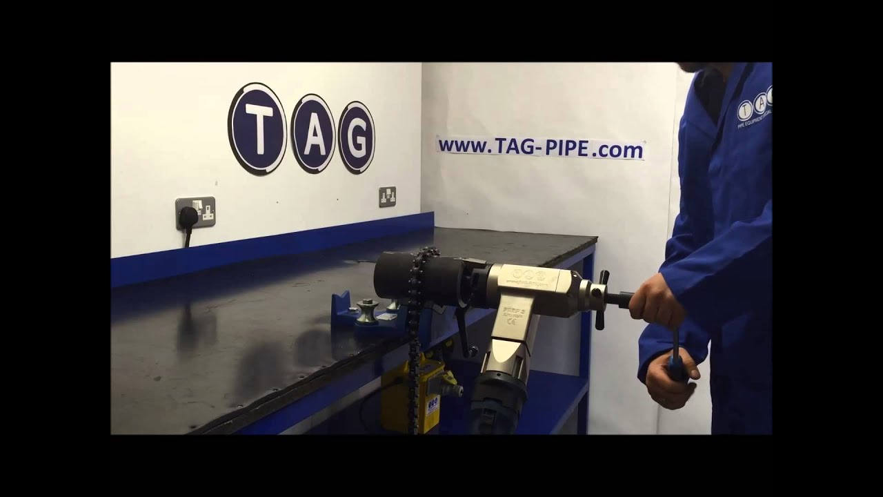 PIPE BEVELLING - TAG PREP 3 PIPE BEVELLING MACHINE