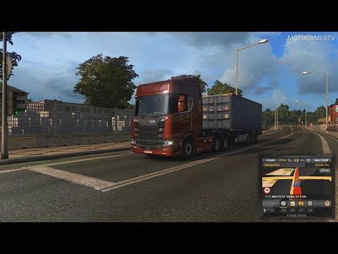 Euro Truck Simulator 2 - Scania R730 V8 Customization & Gameplay
