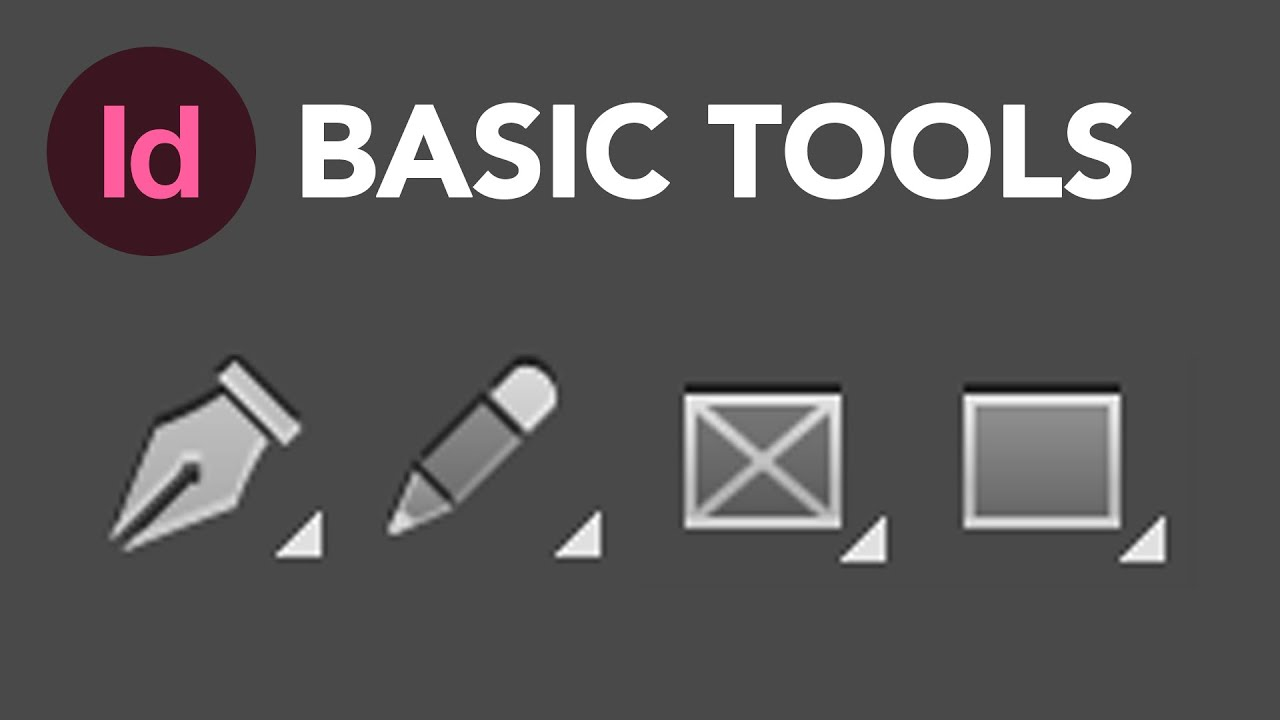 Learn How to Use the Basic Tools in Adobe InDesign CC | Dansky ...