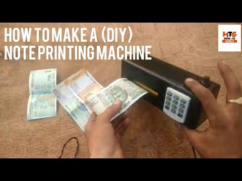How to make a money printing machine / by how to guruji