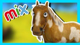 My Draft Horse and More Farm Songs! - Kids Songs & Nursery Rhymes