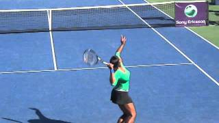 Serena Williams Slice Serve