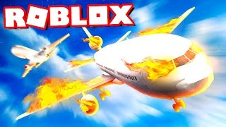 SURVIVE THE PLANE ACCIDENT IN ROBLOX