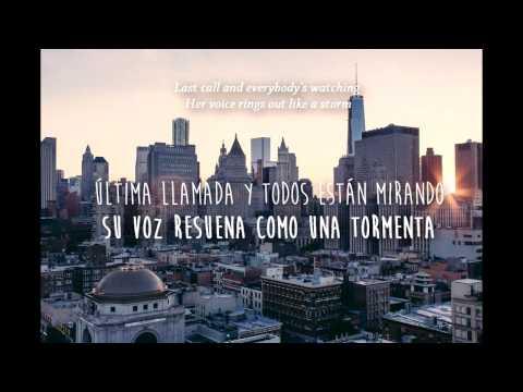 Avalanche - WALK THE MOON (Lyrics in Spanish and English)