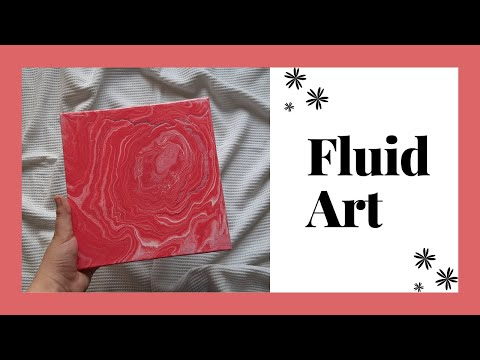 Fluid Art | Easy Painting | #shorts | #FluidArt | #AcrylicPouring | #painting | #fluidart | #35