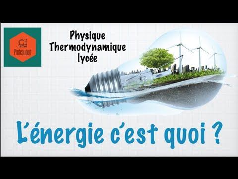 Qu'est-ce que l'énergie ?