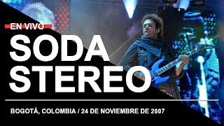 SODA STEREO en Bogotá, Colombia (24.11.2007) // Recital completo