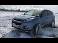 Hyundai ix35 Snow Drifting
