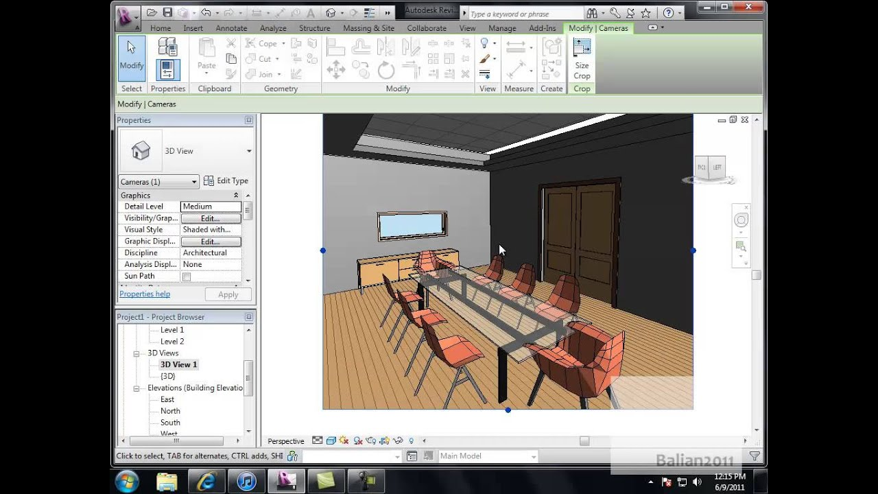 Revit Boardroom Drop Ceiling And Lighting Design Youtube