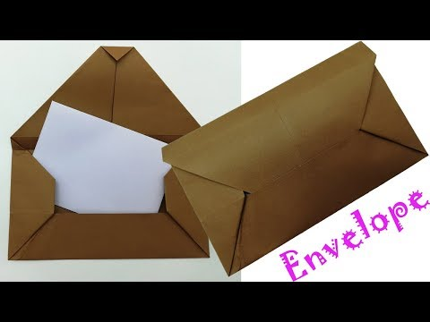How to Make an Origami Paper Envelope | 360x480