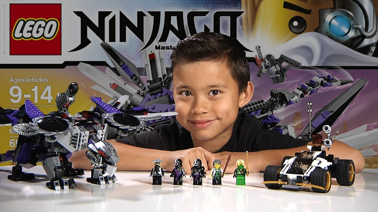 NINDROID MECHDRAGON LEGO NINJAGO 2014 Set Time lapse Build Unboxing & Review
