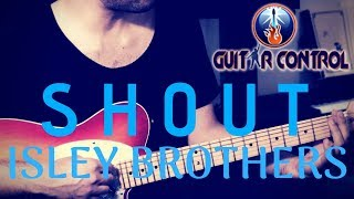 How To Play SHOUT By Isley Brothers - Easy R&B/Soul Rhythm Guitar Lesson
