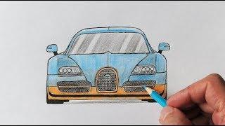 Как нарисовать Bugatti ( Любительская работа )