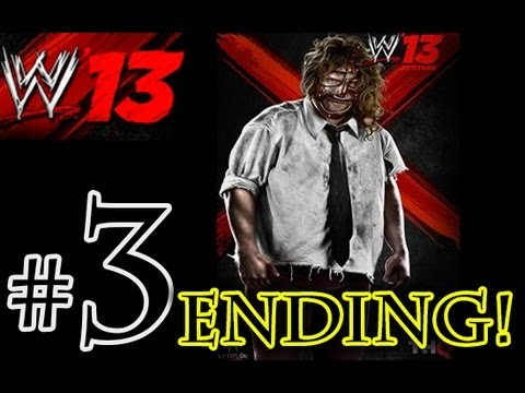 WWE 13 Attitude Era - Mankind Walkthrough Playthrough Part 3 HD ENDING