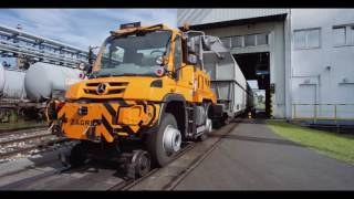 Video ZAGRO Zweiwegefahrzeug Unimog U423 Rangierer download MP3, 3GP, MP4, WEBM, AVI, FLV Agustus 2018